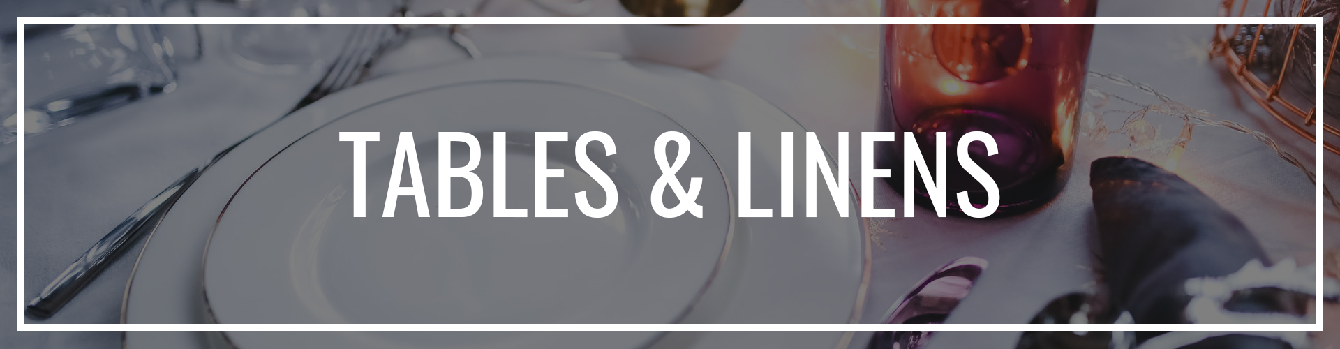 TABLES & LINENS LOGO